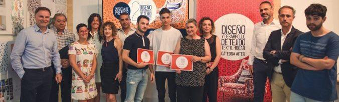 Miguel Morán y Carmen Coll ganan el II Concurso de Diseño y Desarrollo de tejido para el textilhogar