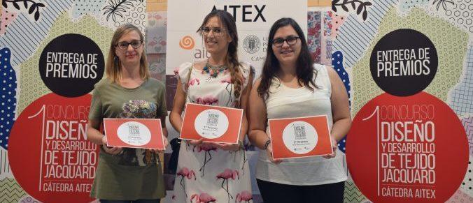 Ya se conocen los ganadores del Concurso de Diseño y Desarrollo de Tejido Jacquard