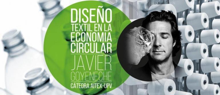 Javier Goyeneche en el Campus de Alcoy
