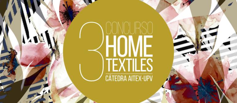FINALISTAS 3º CONCURSO HOME TEXTILES CÁTEDRA AITEX UPV